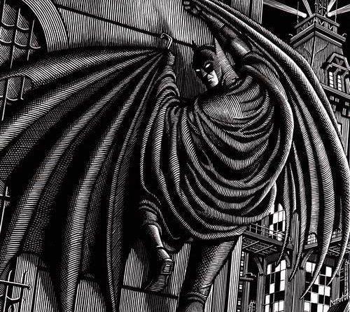 SUPER-BOHATER, ktoś z piedestału, pomnik.